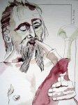 Wenn ferner Spielleute in das Land kommen - Zeichnung von Susanne Haun