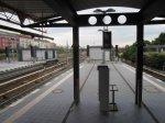 S-Bahnhof Bornholmer Strasse mit Fernsehturm - Foto von Susanne Haun