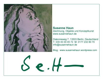 Meine neue Adresse - wenn das mal auch die Post begreifen würde - Susanne Haun
