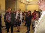 Ausstellung Linienspiele vom Kulturverein Mittelahr - Foto von Suzi Binder