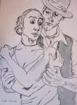 Tango von Susanne Haun zu sehen in der Galerie Zeitlos