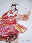 Flamenco von Susanne Haun zu sehen in der Galerie Zeitlos