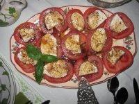 Tomaten vom Geburtstagstisch - Foto von Susanne Haun