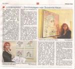Zeitungsartikel Mittelahrbote von Ausstellung und kurze Buchvorstellung Kulturverein Mittelahr