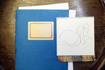 Zuerst mache ich mir eine kleine Skizze für mein weiteres Vorgehen - Susanne Haun