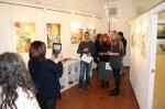Vernissage Turmgalerie Imst Ingrid fotografiert - Susanne Haun