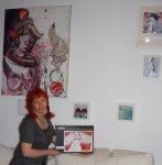 Ich, das Puzzle und ein Teil meiner Sammlung - Foto von Susanne Haun