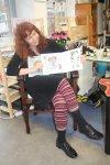 Ich schaue mir die Seite mit den Zwillingen im Sternzeichenbuch an - es ist die Lieblingsseite meiner Mutter - Susanne Haun