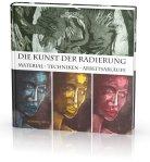 """Cover """"Die Kunst der Radierung"""" Susanne Haun im Edition Michael Fischer Verlag"""