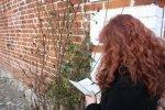 Beim skizzieren der Habebutten - Susanne Haun