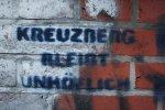 NEIN - das stimmt nicht - Kreuzberg ist bunt - Foto von Susanne Haun