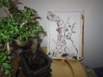 Ein Bonsai - Baum - Foto und Zeichnung von Susanne Haun
