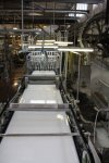 12 Papierherstellung auf der Langmaschine bei der Hahnemühle(c) Foto von Susanne Haun