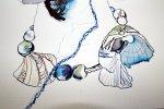 Ausschnitt Muscheln (c) Zeichnung von Susanne Haun
