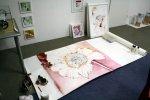 Fertigstellung Zinie 115 x 120 cm (c) Zeichnung von Susanne Haun