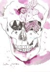 Totenkopf (c) Zeichnung von Susanne Haun