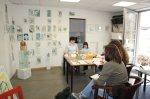 Workshop Portrait Theorie im Atelier (c) Foto von Susanne Haun
