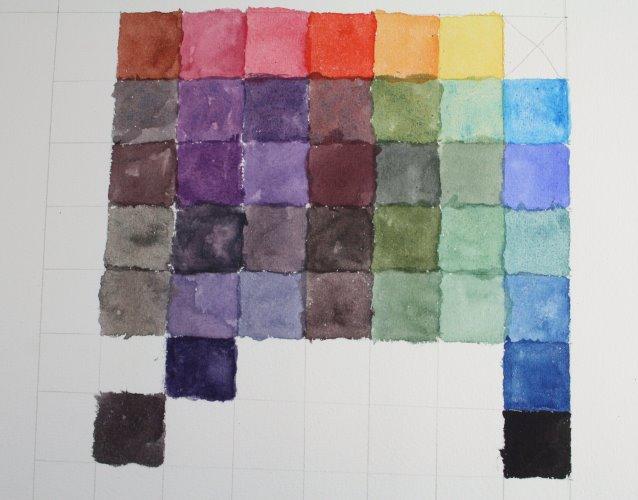 Bald ist die Farbkarte geschafft (c) Foto von Susanne Haun (16)