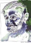 Mein Sinnbild von Hemingway (c) Zeichnung von Susanne Haun
