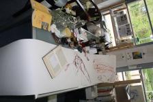 Raguel entsteht auf der Rolle (c) Zeichnung von Susanne Haun (2)