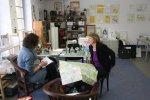 Christiane Weidner Im Gespräch mit der MoPo (c) Foto von Susanne Haun