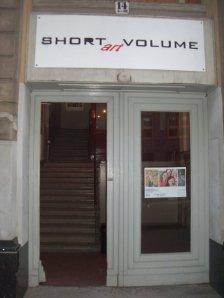 Damaliger Eingang zur Short art Volume (c) Foto von Susanne Haun