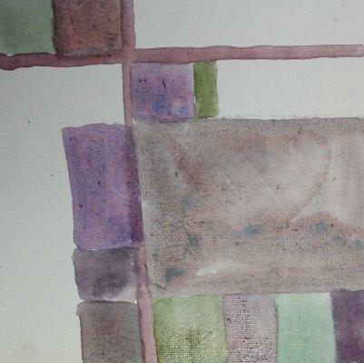 Die Raffinesse der Farbe (c) Leinwand von Susanne Haun