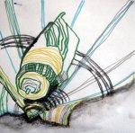 Muscheln mit Pit Artist Pen und Aquarell Graphit Stift (c) Susanne Haun