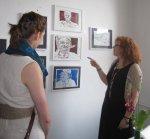 Die Künstler sind in mehrere Räume verteilt (c) Foto von Susanne Haun