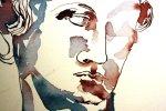 Detail Athena 40 x 30 cm Tusche auf Bütten (c) Zeichnung von Susanne Haun