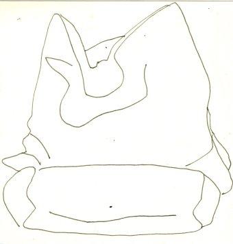 Mein sofa und die kissen darauf als linien sehen for Couch zeichnen