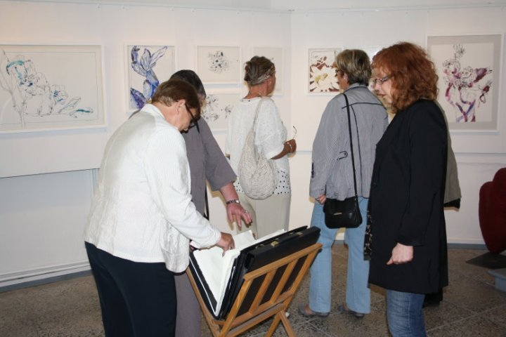 Vernissage Wolgast (c) Fotos von Cordula Kerlikowski