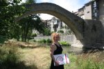 Auf einen meiner täglichen Spaziergänge am Montone (c) Foto H.Haun