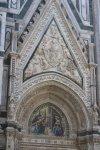 Maria Verkündung - Pforte in den Dom von Florenz (c) Foto von Susanne Haun