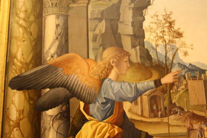 Detail L'annunciazione (c) Foto von Susanne Haun
