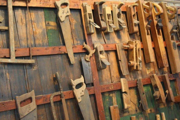 Bootsbauwerkzeug im Marina Museum (c) Foto von Susanne Haun