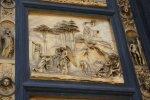 Detail Paradiestür vom Baptisterium von Ghiberti (c) Foto von Susanne Haun