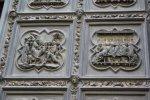 Detail Tür von Ghiberti mit Szenen aus dem neuen Testament (c) Fot von Susanne Haun