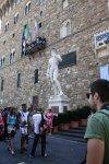 Der David vor dem Pallazo Vecchio (c) Foto von Susanne Haun