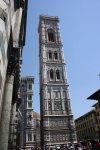 Glockenturm von Giotto vom Dom in Florenz (c) Foto von Susanne Haun