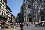Menschen über Menschen in Florenz (c) Foto von Susanne Haun