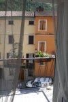 Blick vom Balkon auf Portico (c) Foto von Susanne Haun