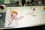 Uriel der Sternendeuter (c) Zeichnung von Susanne Haun