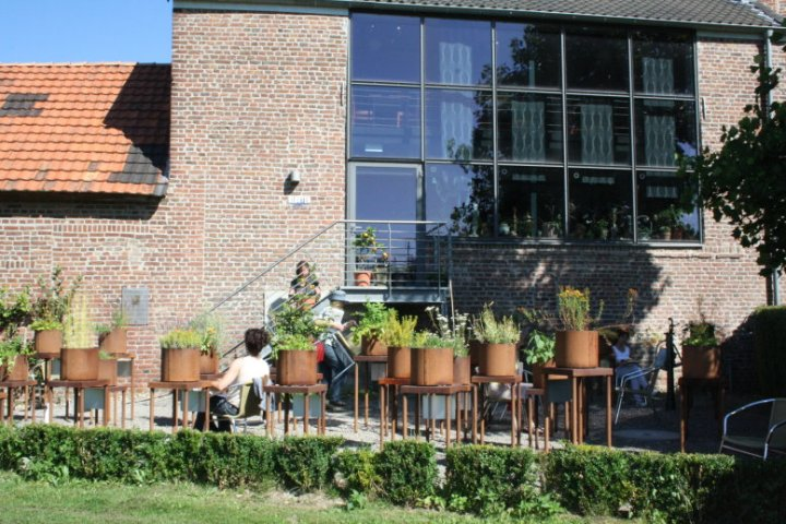 Der Klostergarten ist interssant angelegt (c) Foto von Susanne Haun
