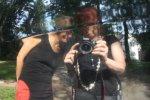 Kerstin und ich in der Sonne (c) Foto von Susanne Haun