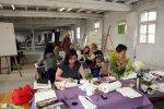 Alle arbeiten konzentriert (c) Foto von Susanne Haun