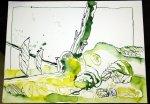 Grün - Zeichnung von Susanne Haun