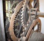 Uhrwerk der ehemaligen Kirchturmuhr (c) Foto von Susanne Haun
