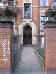 Der Eingang zum Museum Steglitz (c) Foto von Susanne Haun