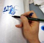 Der intensive Blauton von gestern (c) Foto von Susanne Haun